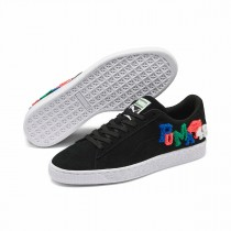 Puma Suede Classic Embroidered Badges Sneakers Zwart 371580-01