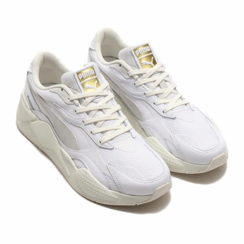 Puma RS-X3 Luxe Wit/Wit - 374293-01
