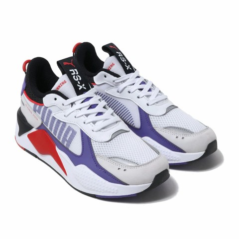 PUMA Rs-X Bold Sneakers Wit Violet Rood Zwart 372715-07