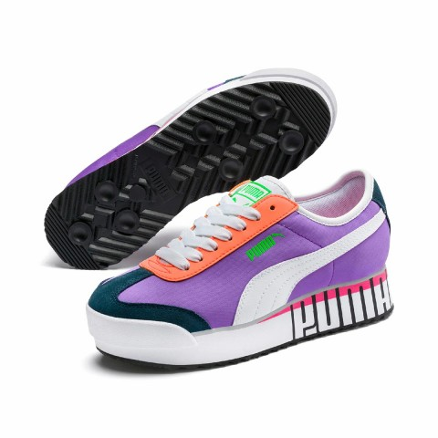 Dames Puma Roma Amor Logo Paars/Wit 372113-01