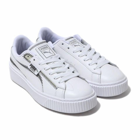 PUMA Platform Mixed FS Dames Wit 371793-01