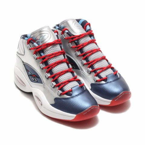 Reebok Question Mid Iverson x Harden Zilver - FZ1366