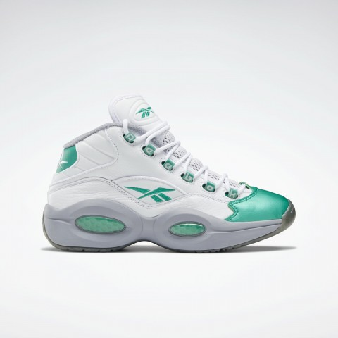 Reebok Question Mid Philadelphia Eagles Wit Groen Grijs FZ3993