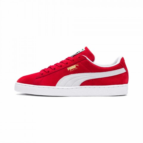 Puma Suede Classic+ Rood-Wit - 352634-65
